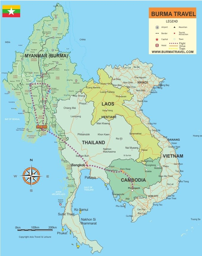 Map-myanmar-Cambodia-Highlights