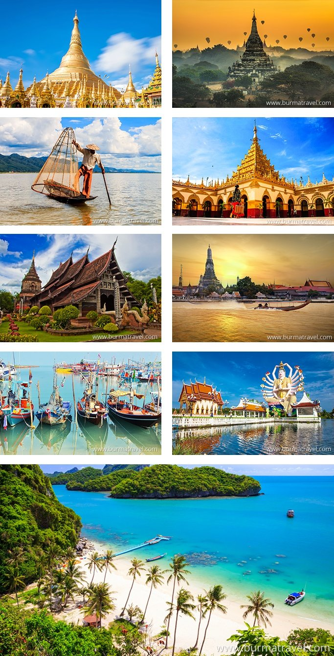 Photo Best Of Myanmar & Thailand