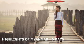 Highlights of Myanmar - Myanmar itinerary 6 days