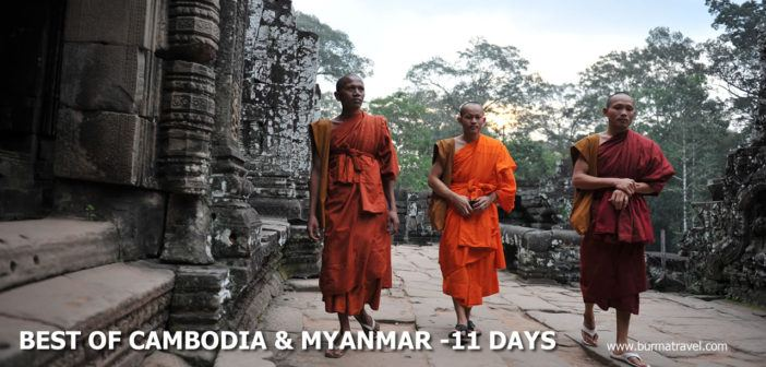 Best of Myanmar & Cambodia – 11 Days
