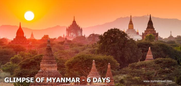 Glimpse of Myanmar – 6 Days