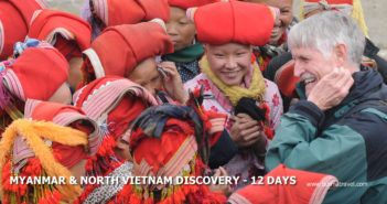 12 days Myanmar & North Vietnam itinerary