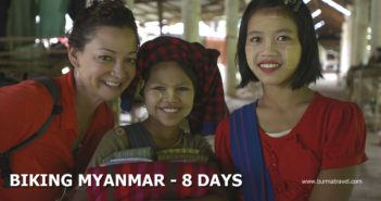 Myanmar Cycling Tours - Biking Myanmar - 11 Days