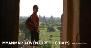 Myanmar Adventure – 16 Days