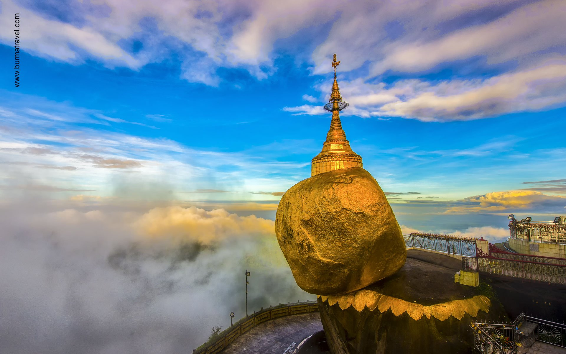 Discover Golden rock in day trip is one of our best Myanmar Tours