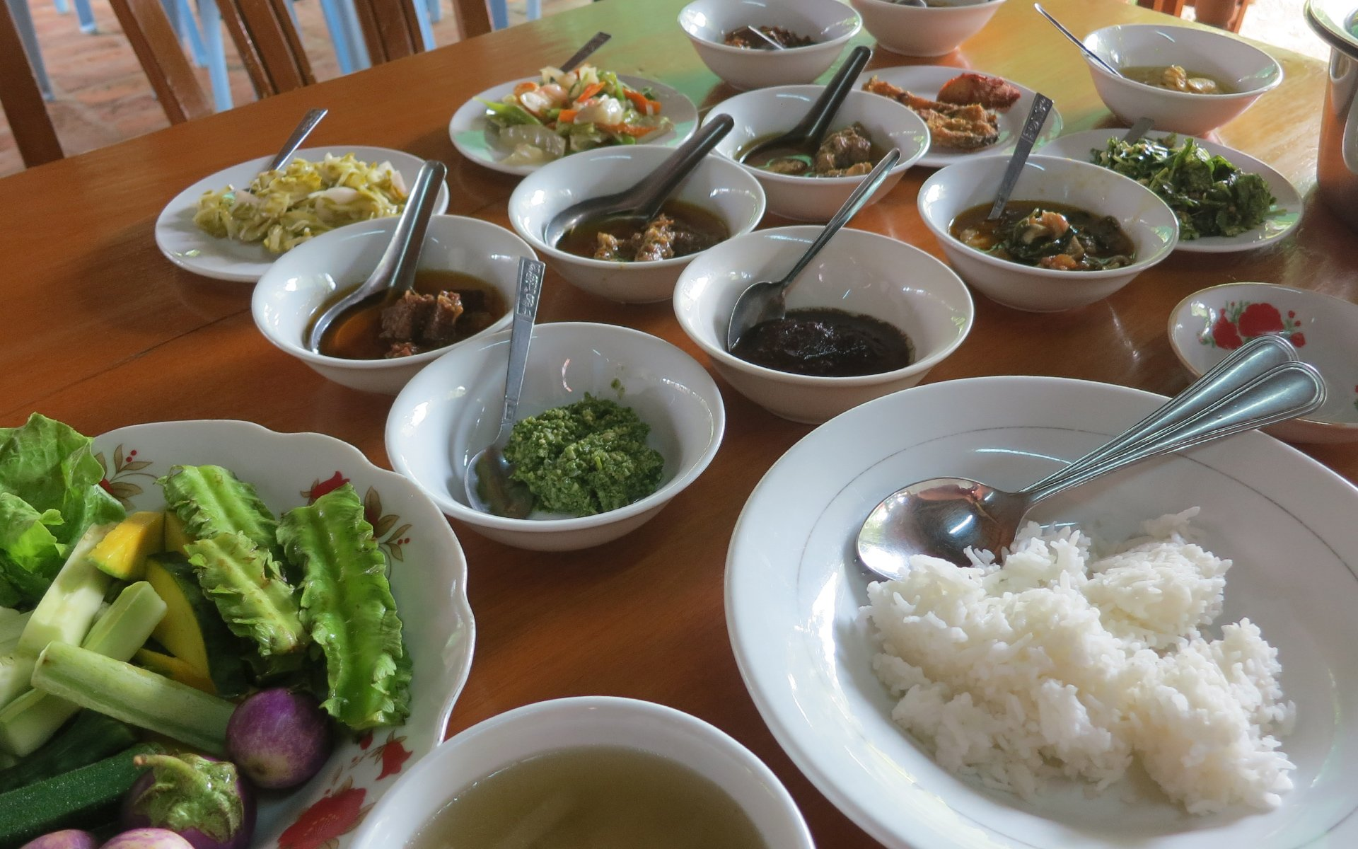 Myanmar Lunch