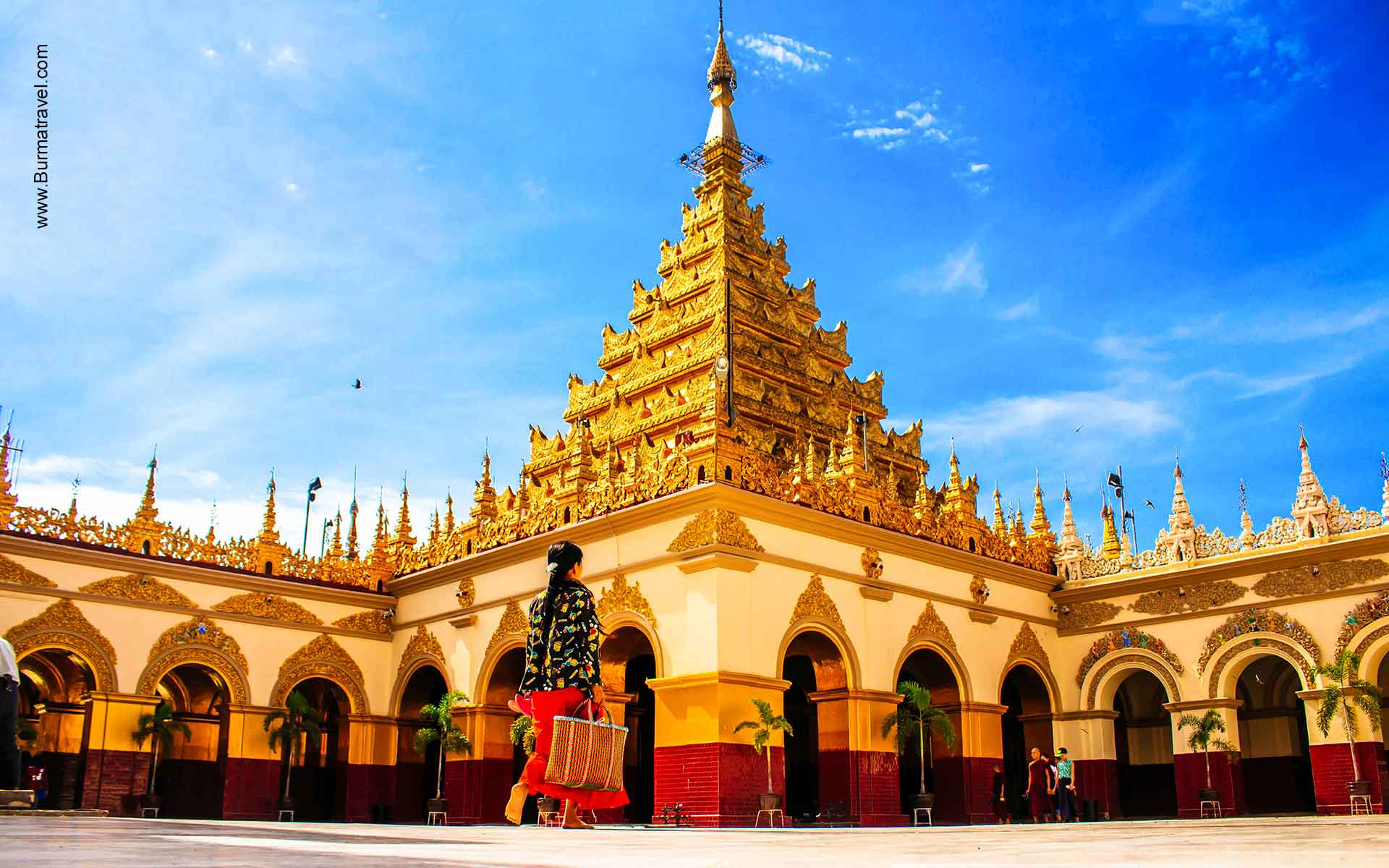 Mahamuni Image Pagoda - Attractions in Mandalay